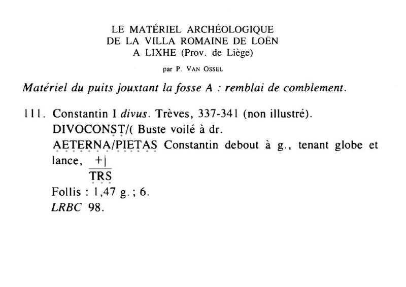 Nummi de consécration - Constantin I  - Page 16 Ial19811