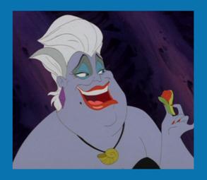 lister les personnages alphabétiquement  Ursula10