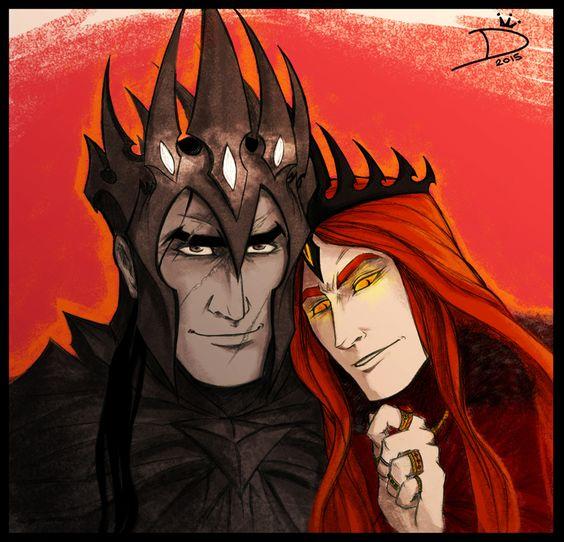 Mairon - The fire-hearted Maia & SAURON  91cbf410