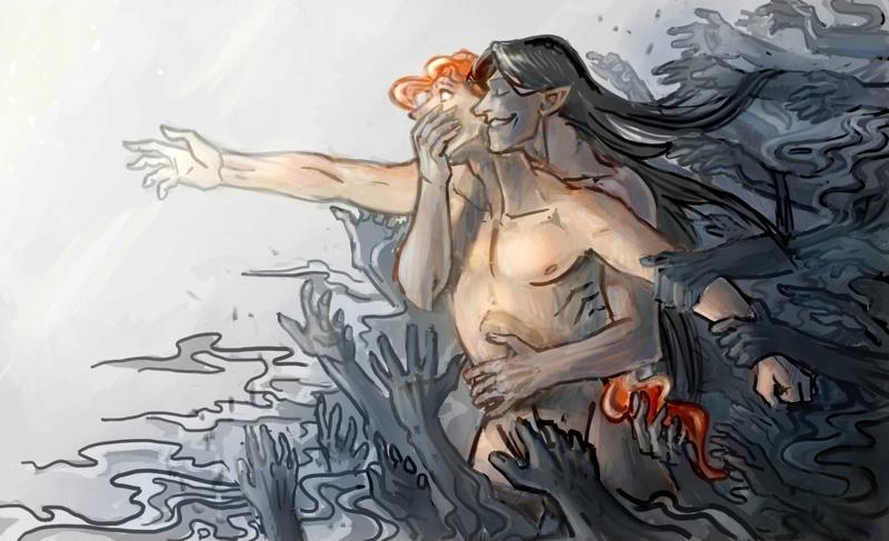 Melkor + Sauron = Morgoth   Ie-oaz11