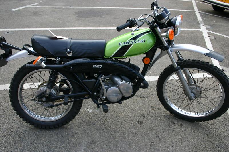 Kawasaki 125 KE Img_1410