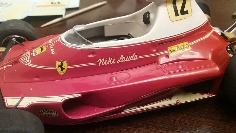 "1975 Ferrari 312T F1 ""Rush Part One"" Niki Lauda 20170812"