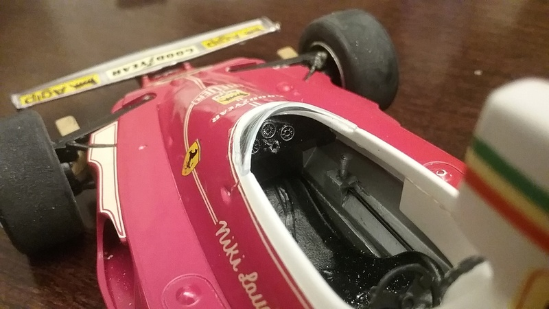 "1975 Ferrari 312T F1 ""Rush Part One"" Niki Lauda 20170813"