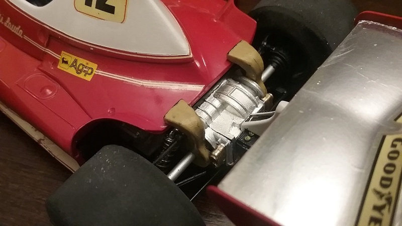 "1975 Ferrari 312T F1 ""Rush Part One"" Niki Lauda 20170816"