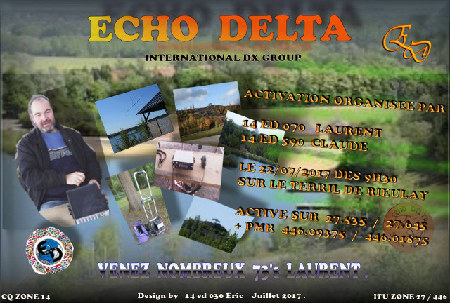 Activation Echo Delta sur le Terril de Rieulay (Dep. 59 (22 Juillet 2017) 45411910