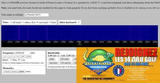 WebSDR 11m + bande déca. (SWL) - Page 2 86_19310
