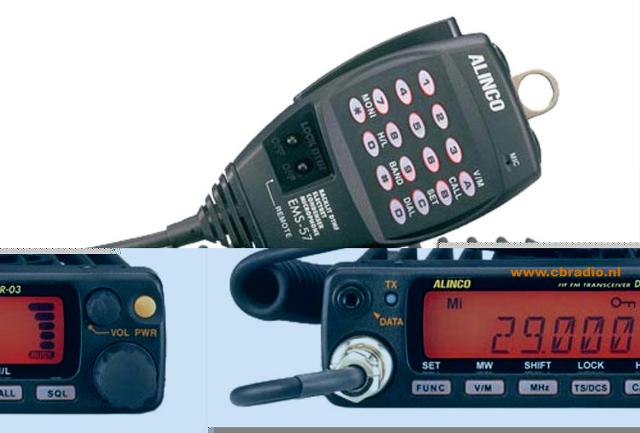 Alinco DR-03 (Mobile) Alinco10