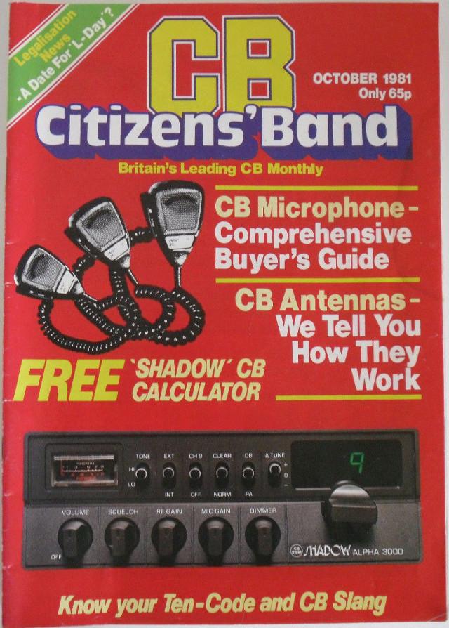CB Citizens' Band (Magazine (GB) Cb-cit12