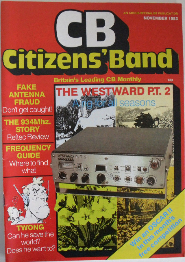 CB Citizens' Band (Magazine (GB) Cb-cit13