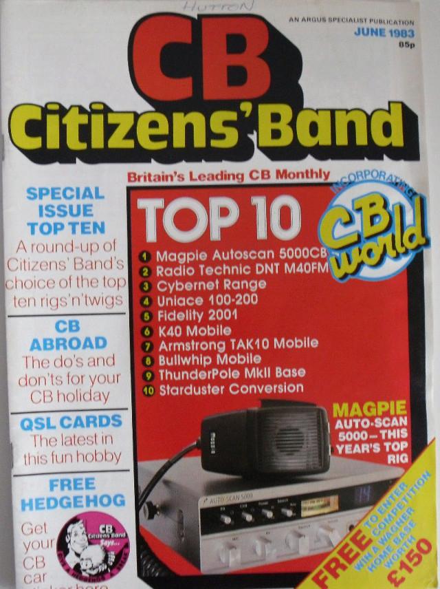 CB Citizens' Band (Magazine (GB) Cb-cit16