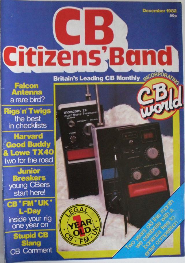 CB Citizens' Band (Magazine (GB) Cb-cit17