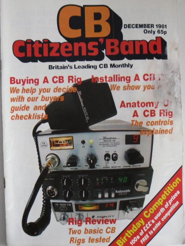 CB Citizens' Band (Magazine (GB) Cb-cit18