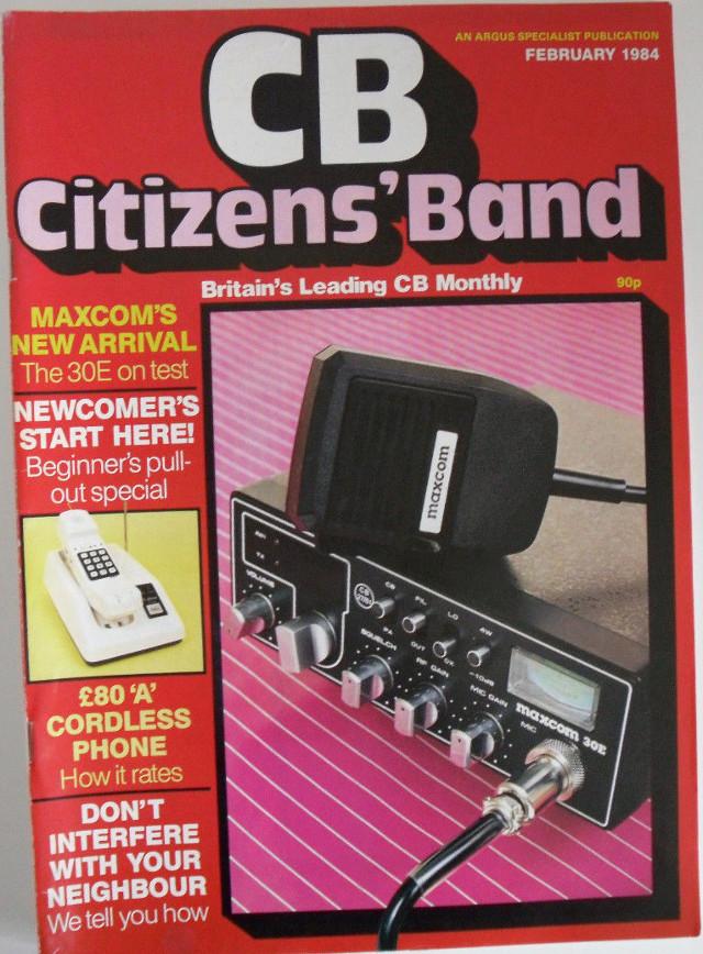 CB Citizens' Band (Magazine (GB) Cb-cit20