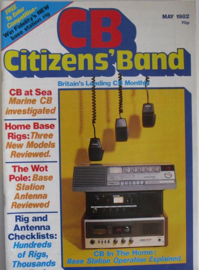 CB Citizens' Band (Magazine (GB) Cb-cit21