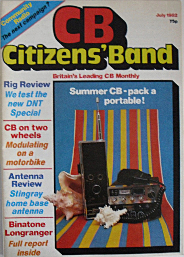 CB Citizens' Band (Magazine (GB) Cb-cit24