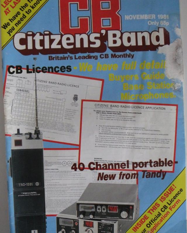 CB Citizens' Band (Magazine (GB) Cb-cit28