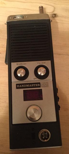 Handmaster 40 (Portable) Hand-m10