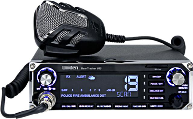 Uniden BearTracker 885 Hybrid (Météo/Police (Mobile) Prev_u10