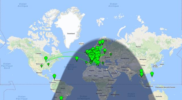 Propagation DX et activité solaire en temps réel Propag14