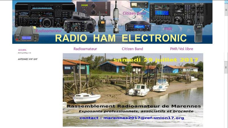 Brocante - Salon Radioamateur de Marennes - REF 17 (29/07/2017) Radio_10