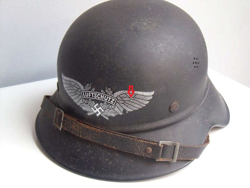 Casque Luftschutz , original ? Dscf4610