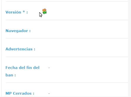 Crear una lista desplegable de imágenes en el perfil Screen12