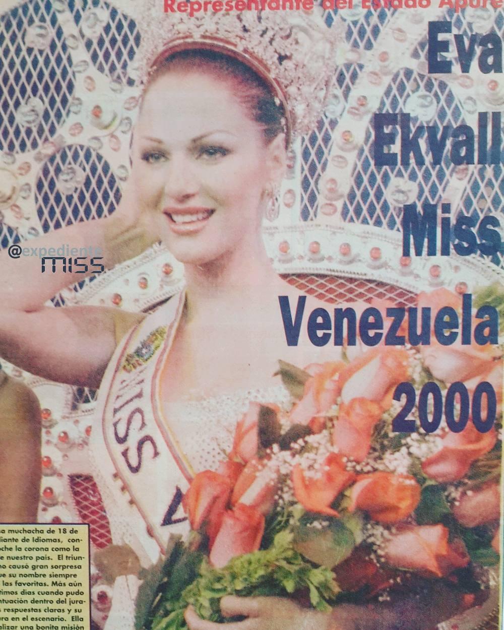 eva ekvall, 3rd runner-up de miss universe 2001. † - Página 4 17267710