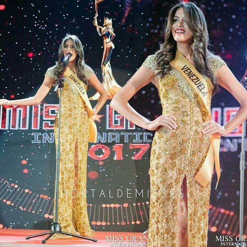tulia aleman, 1st runner-up de miss grand international 2017. - Página 3 22220810