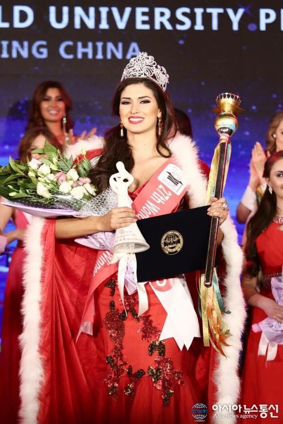 kelin rivera kroll, top 10 de miss universe 2019/2nd runner-up de miss eco international 2018/world miss university 2016. Peru1010