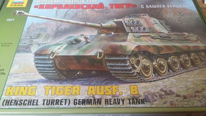 tiger - king tiger Ausf b de chez ZVEZDA  20170712
