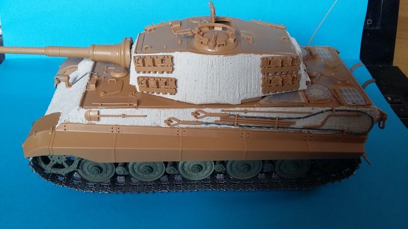 tiger - king tiger Ausf b de chez ZVEZDA  20170725