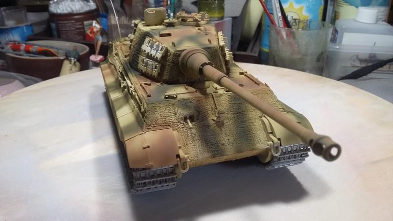 tiger - king tiger Ausf b de chez ZVEZDA  20170812
