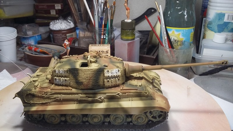 tiger - king tiger Ausf b de chez ZVEZDA  20170813