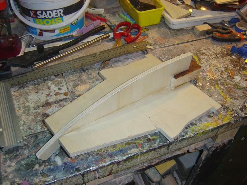 fabrication etape par étape de mon droideka Droid109