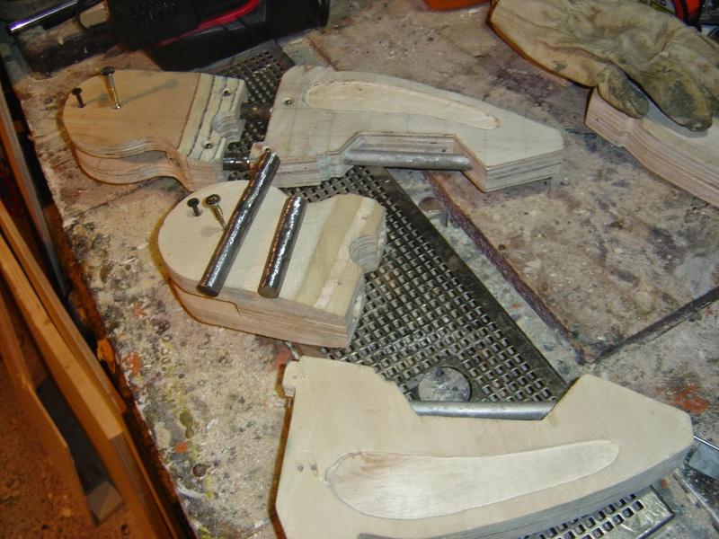 fabrication etape par étape de mon droideka Droide13