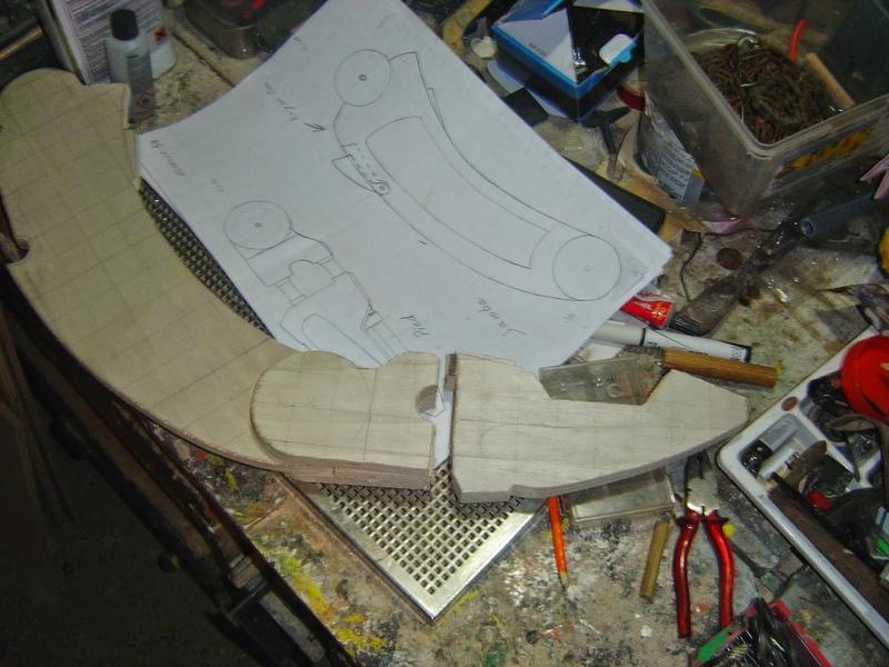 fabrication etape par étape de mon droideka Droide14