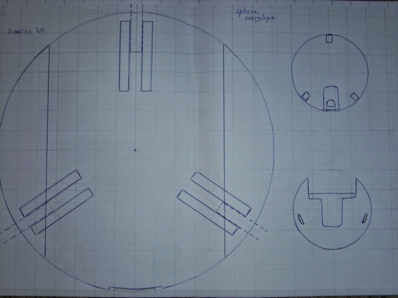 fabrication etape par étape de mon droideka Droide16