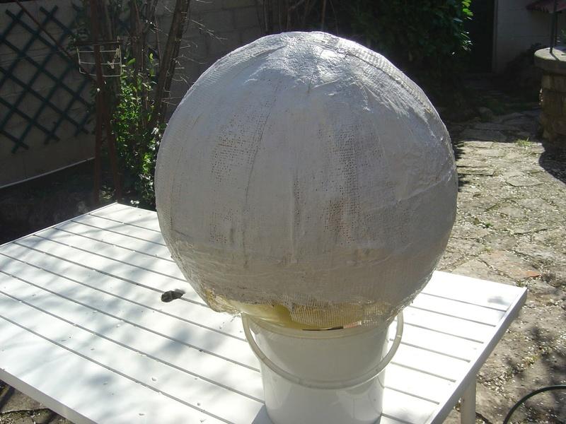 fabrication etape par étape de mon droideka Droide18