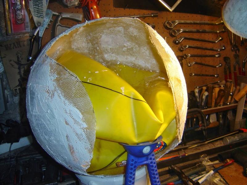 fabrication etape par étape de mon droideka Droide19
