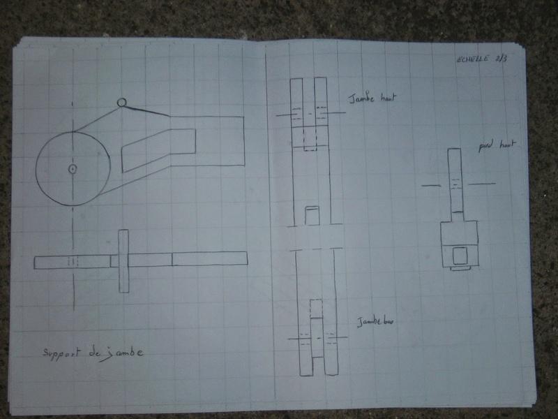 fabrication etape par étape de mon droideka Droide20
