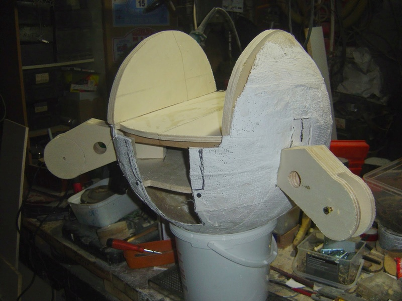 fabrication etape par étape de mon droideka Droide21