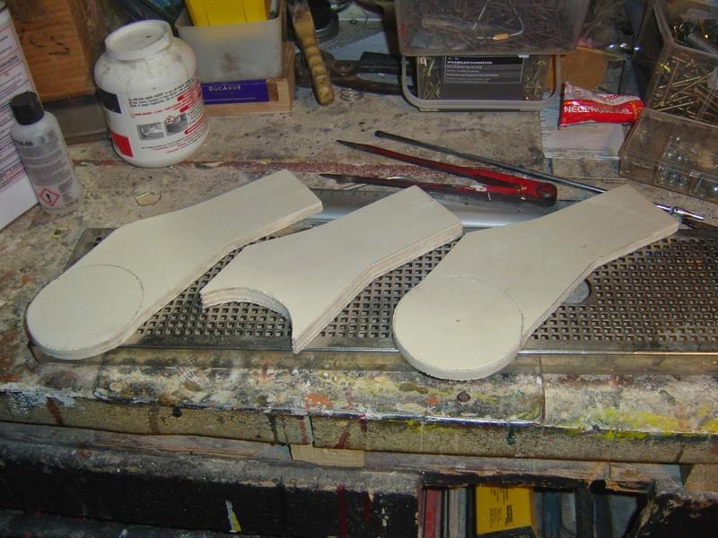 fabrication etape par étape de mon droideka Droide23