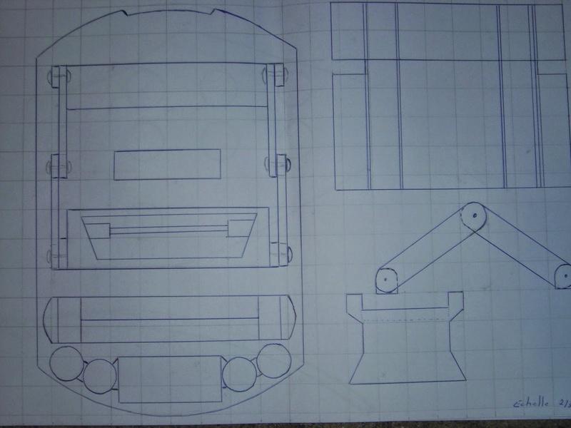 fabrication etape par étape de mon droideka Droide25
