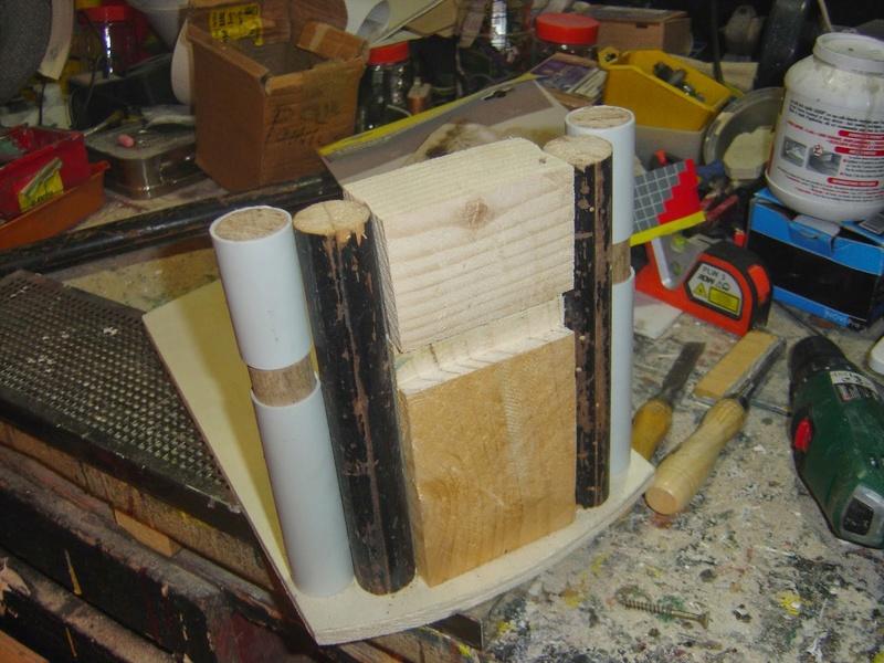 fabrication etape par étape de mon droideka Droide26