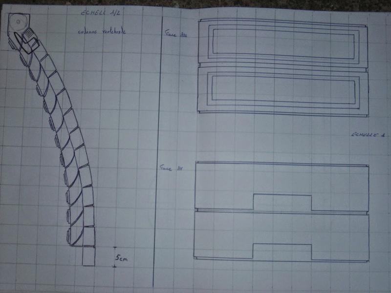 fabrication etape par étape de mon droideka Droide30
