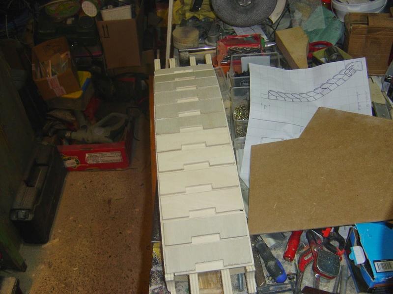 fabrication etape par étape de mon droideka Droide32
