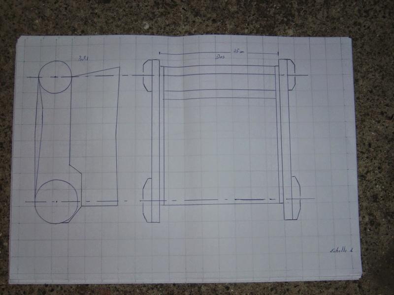 fabrication etape par étape de mon droideka Droide37
