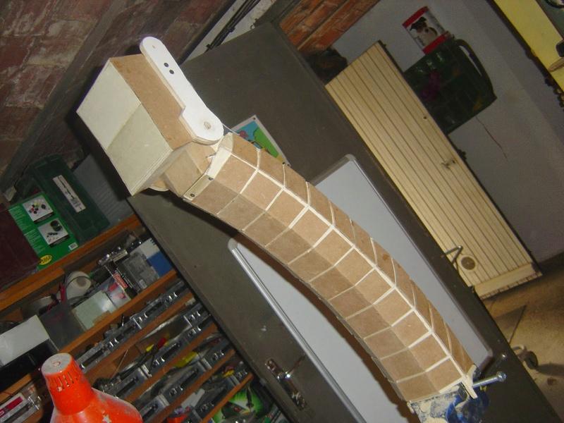 fabrication etape par étape de mon droideka Droide38