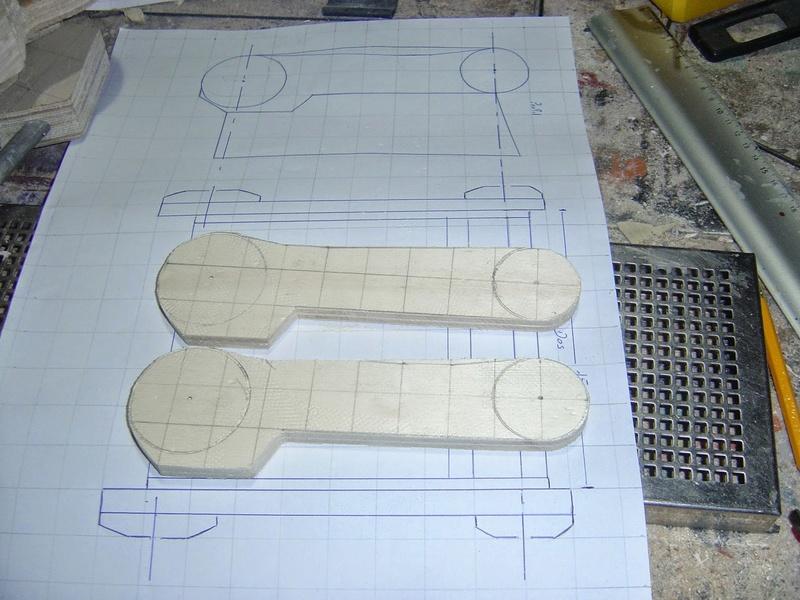 fabrication etape par étape de mon droideka Droide39