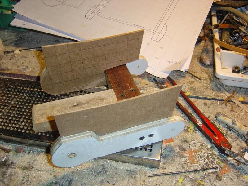 fabrication etape par étape de mon droideka Droide40